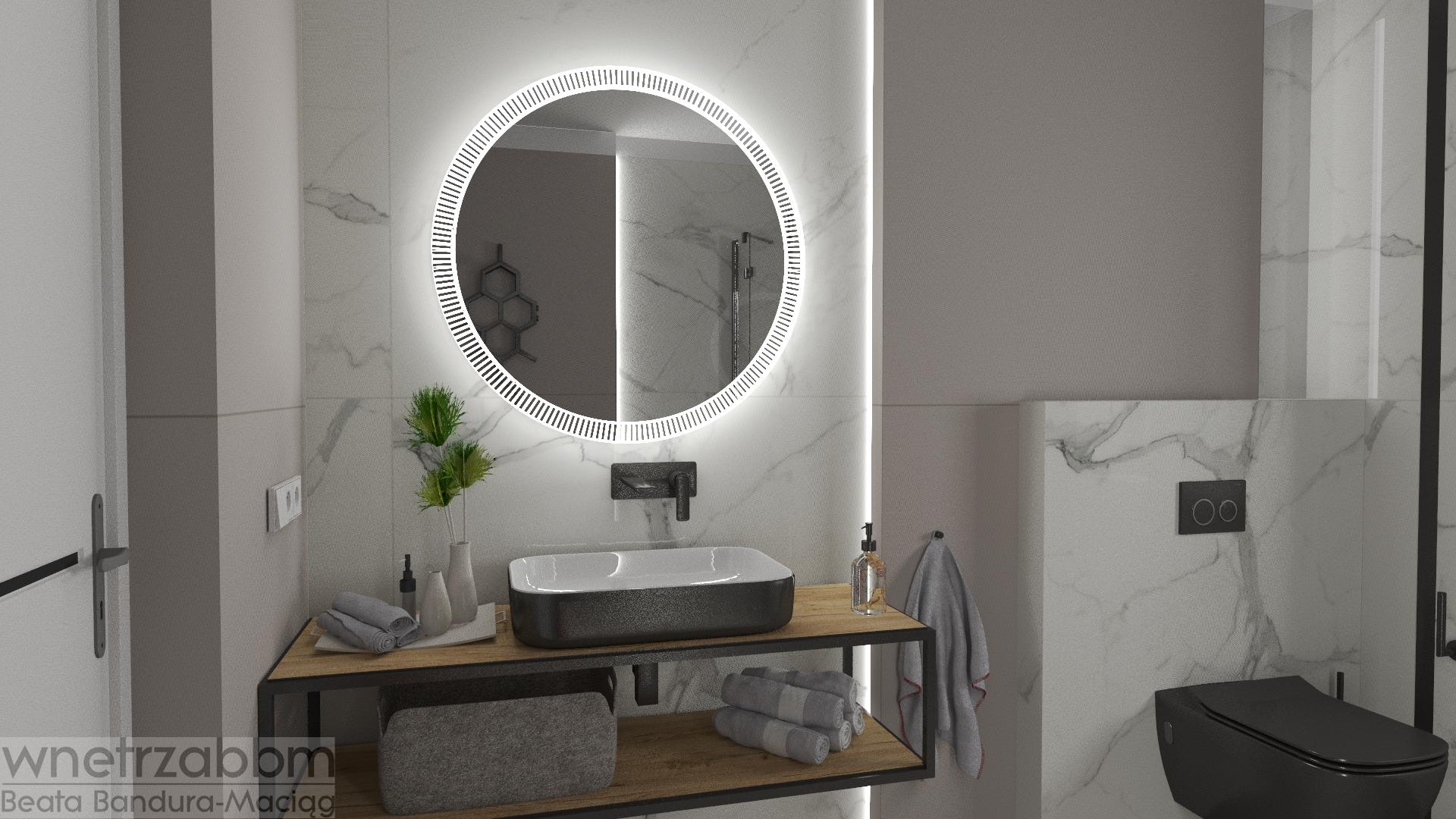 Dom w Koniecpolu – łazienka parter