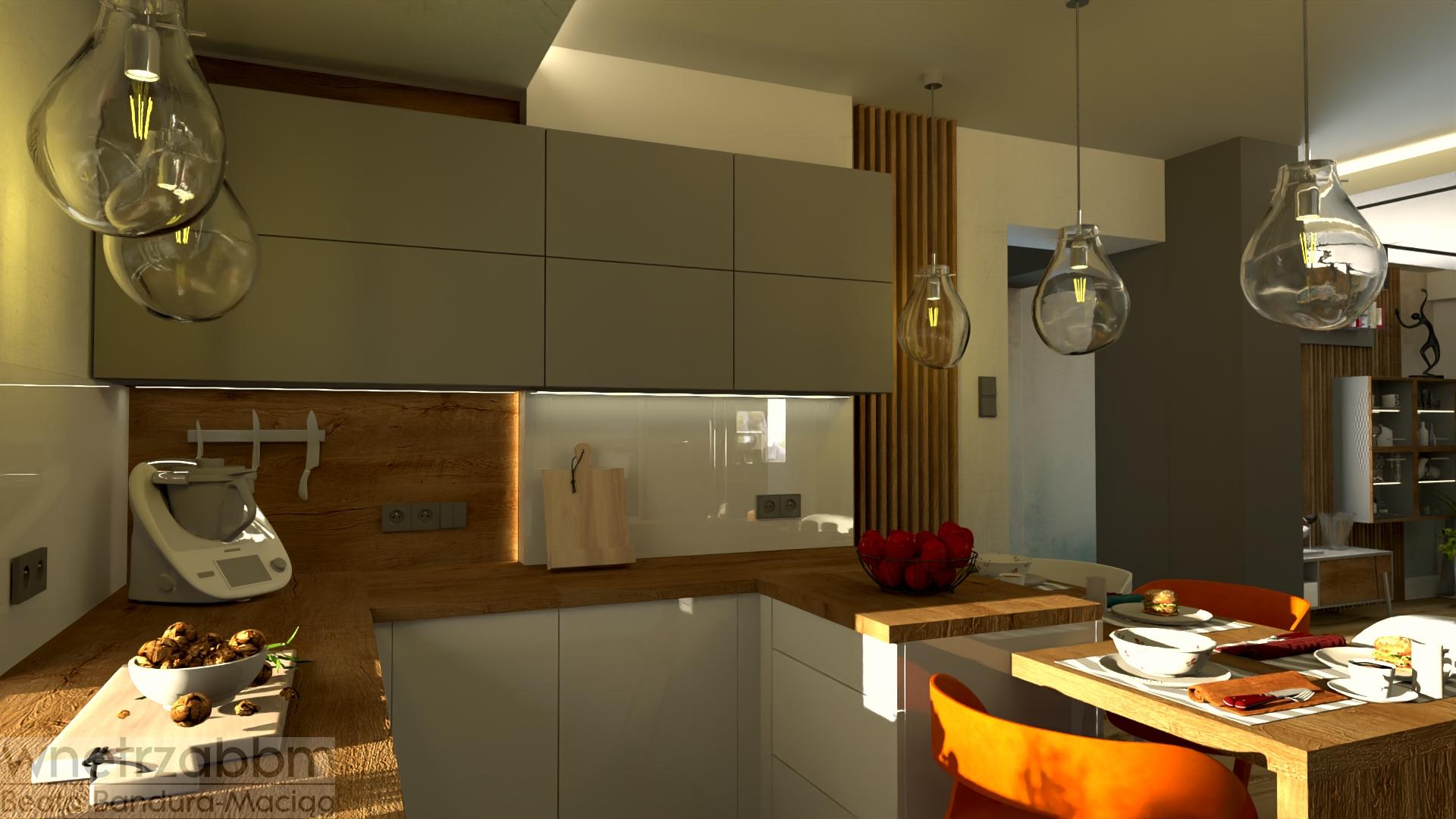 Strefa dzienna w domu – kuchnia