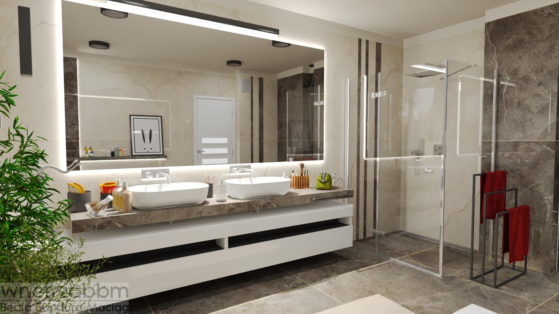 Dom w Koniecpolu – łazienka